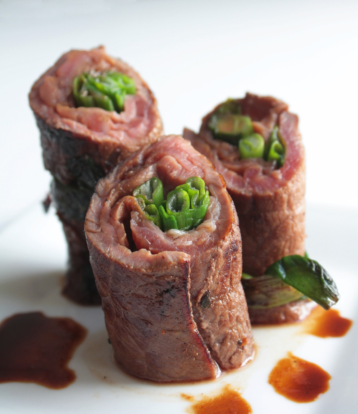 Beef Negimaki (Steak & Scallion Rolls) | I Breathe I'm Hungry