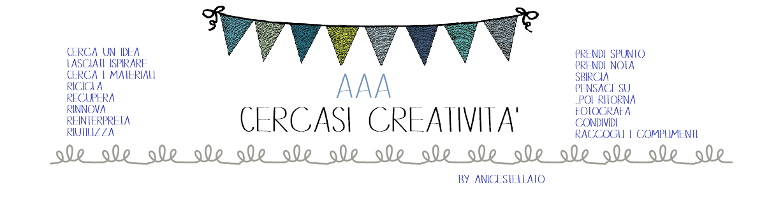 AAA cercasi creatività