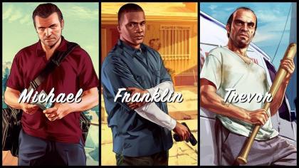 GTA+5+Michael+Franklin+Trevor GTA 5 Michael Franklin Trevor Karakterlerinin Fragmanları