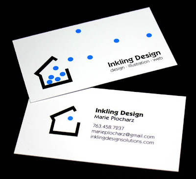 Business Card and Logo For Inkling Design