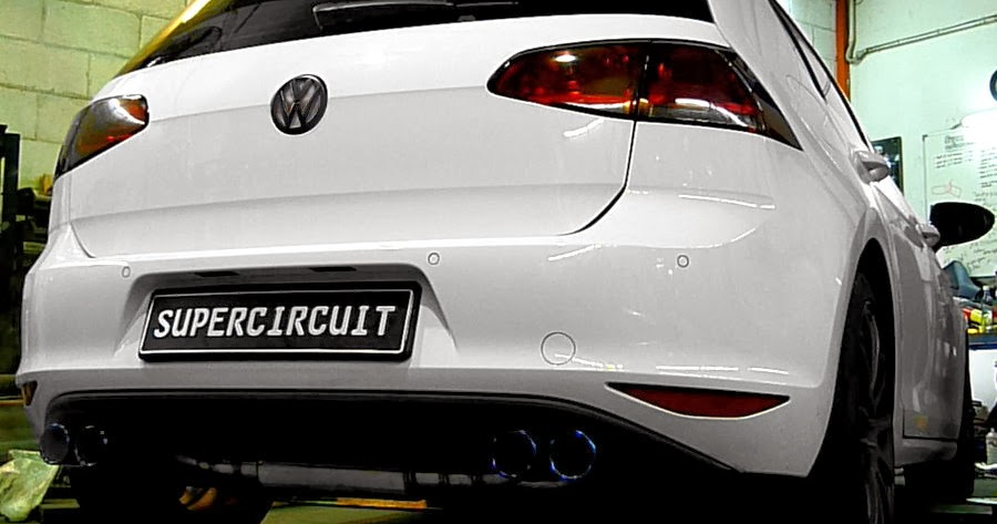 supercircuit exhaust pro shop vw golf 7 1 4 tsi turbo downpipe. Black Bedroom Furniture Sets. Home Design Ideas