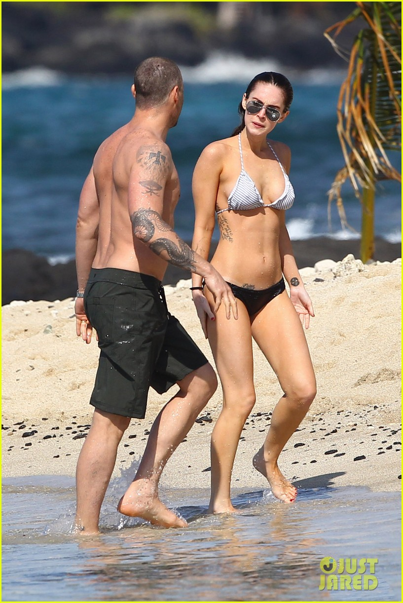 Megan Fox Bikini Photos in Hawai