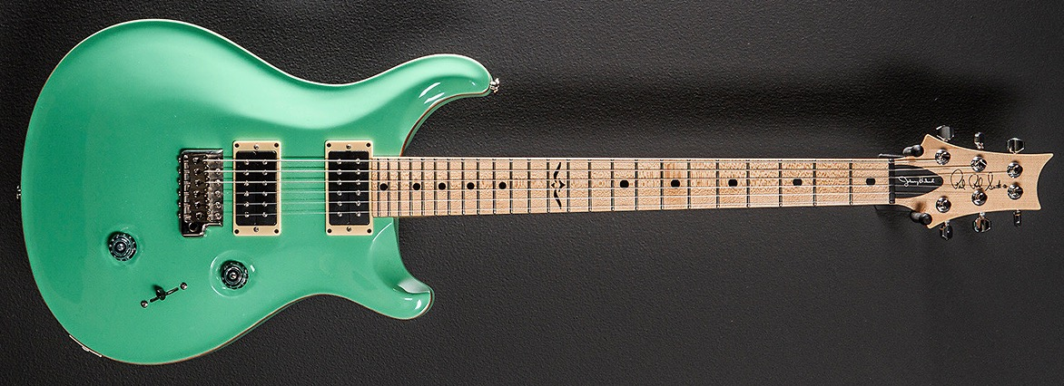 PRS Johnny Hiland Signature Guitar in Custom Sea Foam Green