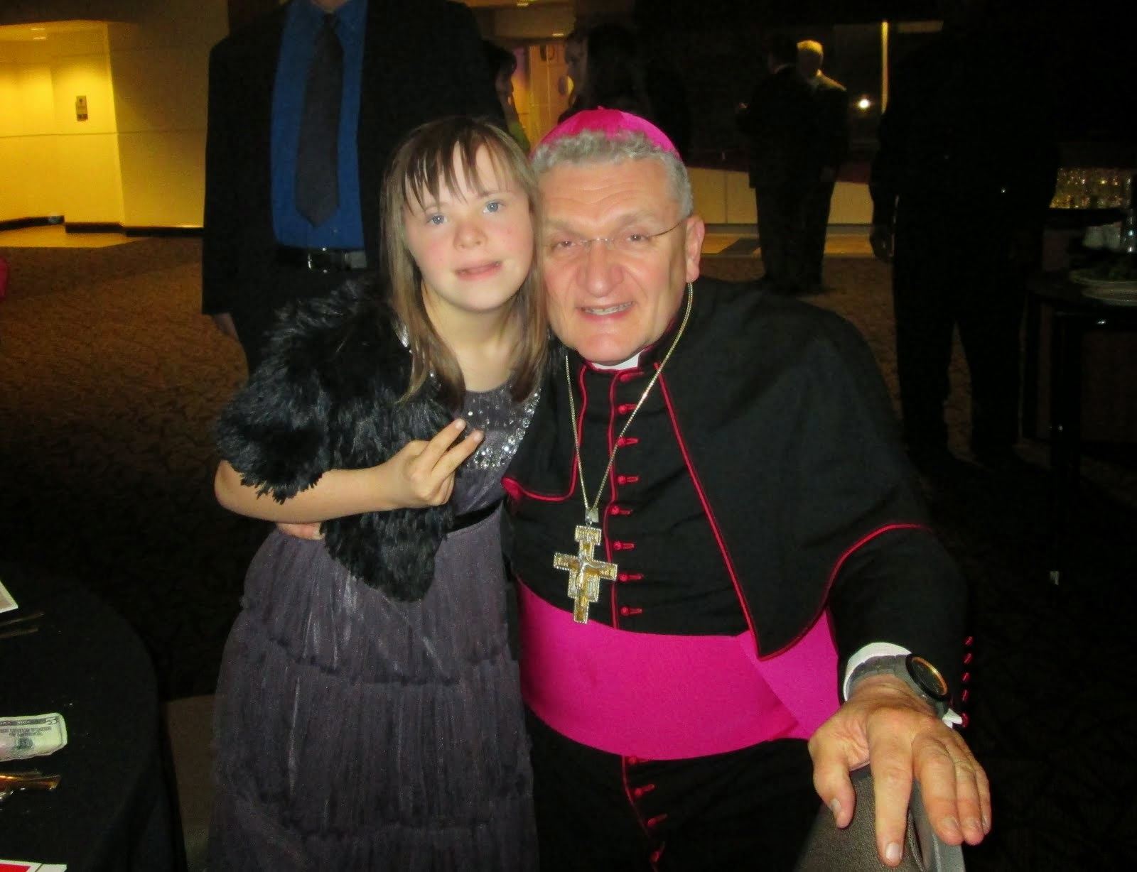 Chloe meets with Pittsburgh Bishop David Zubik