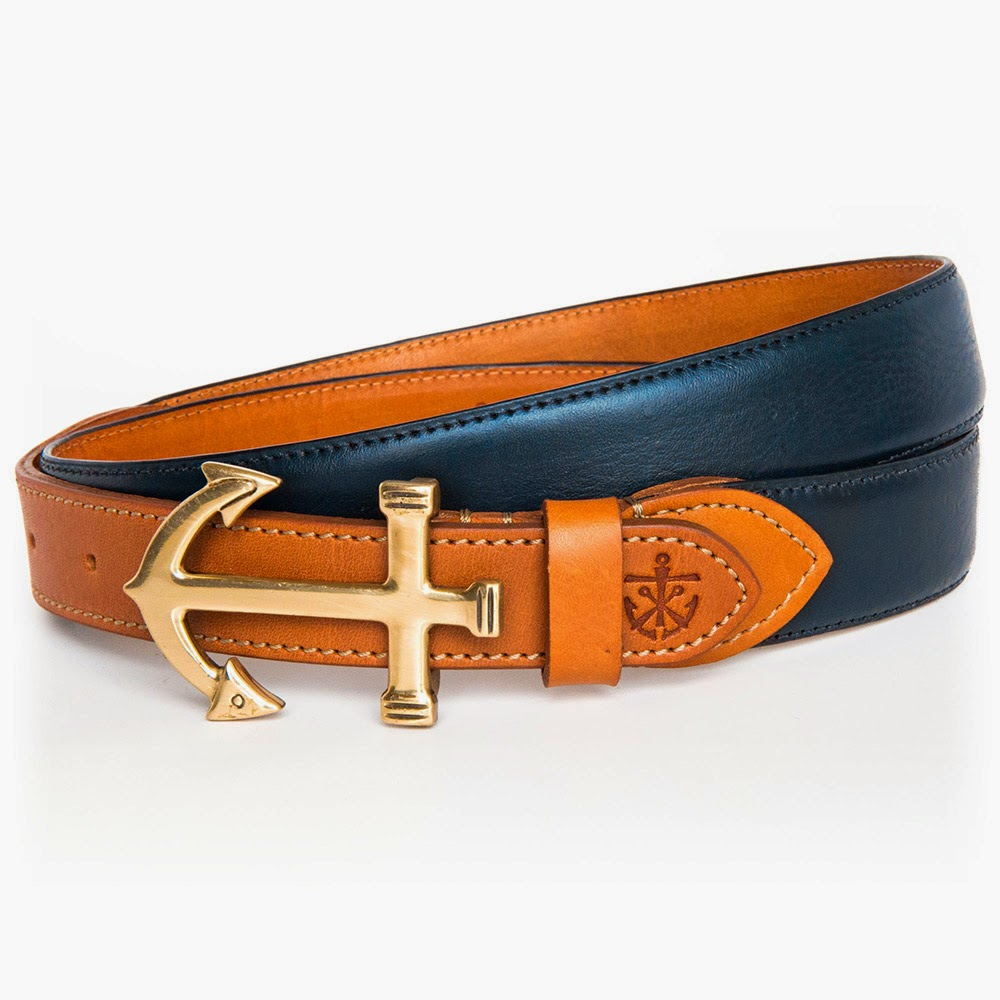 Kiel James Patrick Captain Gatsby Belt Preppy