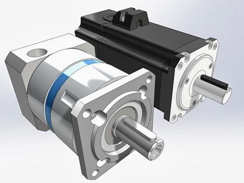 gearbox motor dimensions GAM