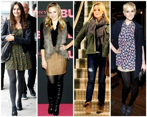 Ladies New Brands Girls Stylish Winter Fashion Collection 2013