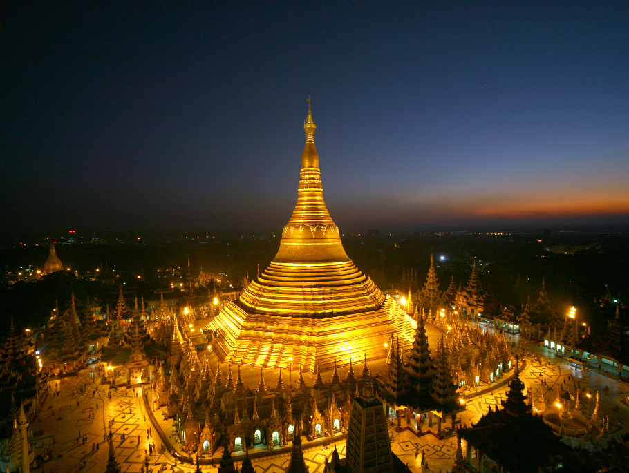 The Shwedagon Pagoda of Yangon  Myanmar   The Collective Intelligence