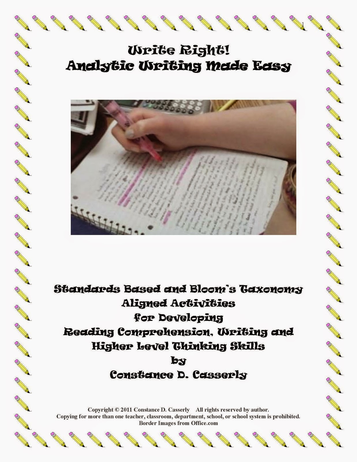 Writing: Write Right! Analytic Writing Made Easy cover