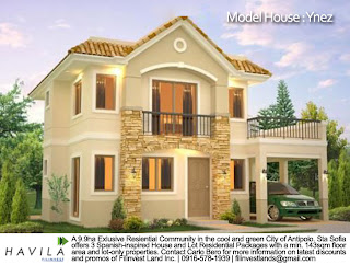 Model House Ynez - House and Lot for Sale in Antipolo, Sta. Sofia, Mission Hills