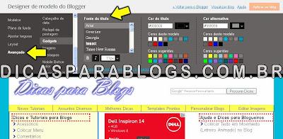 Formatar Texto do Blog