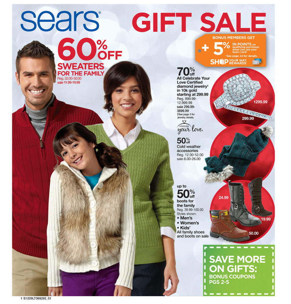 Sears Memorial Day Sale 2016