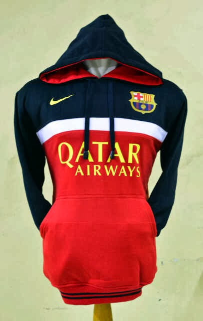 Jumper Hoodie Bola 3D Barcelona Black-White-Red.jpg