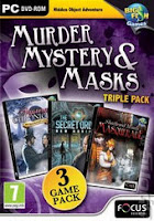 Murder Mystery And Masks Triple Pack-FASiSO