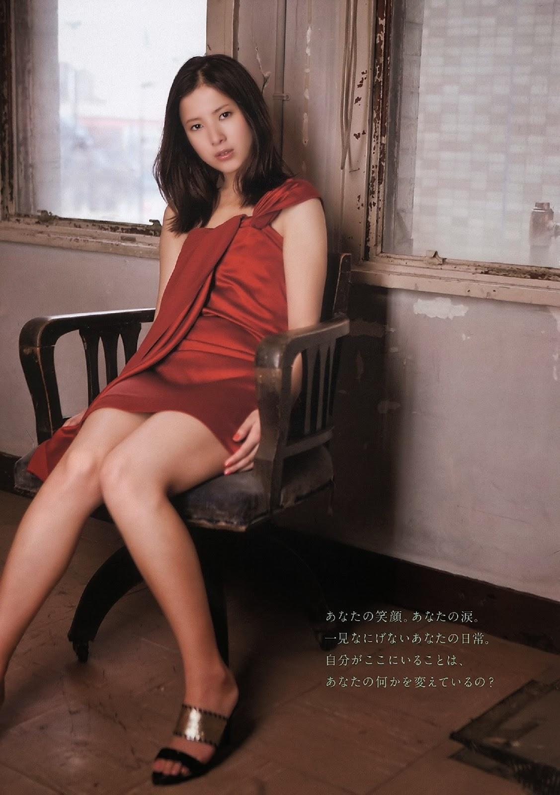Yuriko Yoshitaka 吉高由里子 Weekly Playboy No 15 2011 Images 3