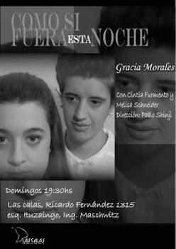 """""""como si fuera esta noche"""" de Gracia Morales"""