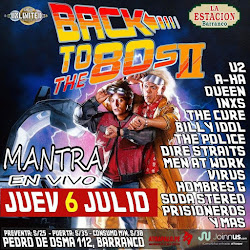 Back to the 80's II (Mantra en vivo)