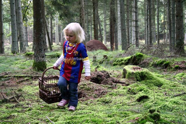 Hyggetrolde & bulderbasser: en tur i efterårs skoven på jagt efter ...