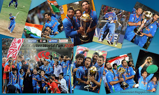 India - World Cup 2011 Champions - Celebrations wallpaper