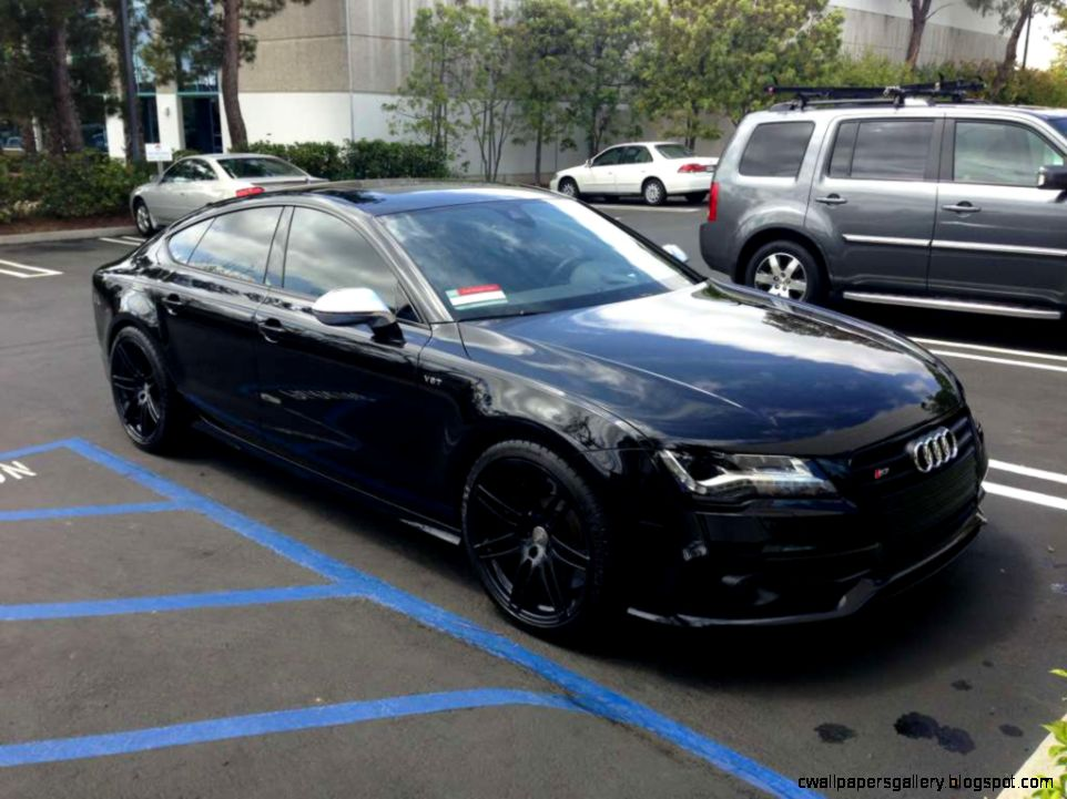 Blacked Out Audi S5