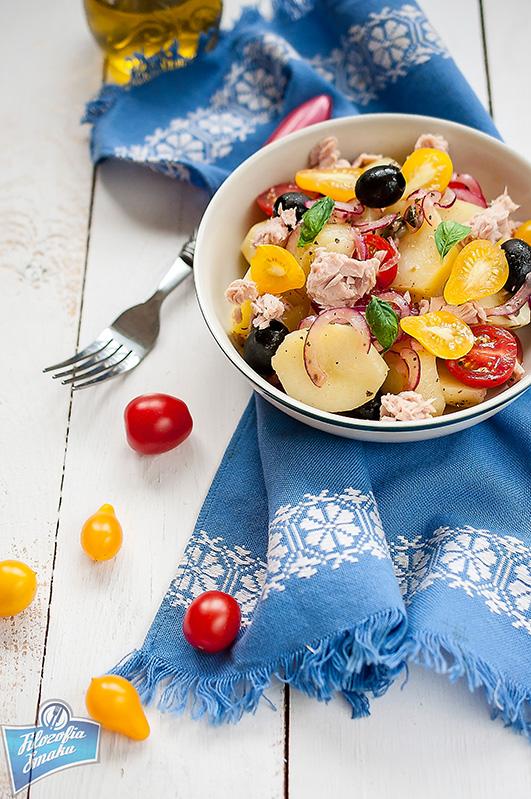 Sałatka z ziemniaków i oliwek przepis
