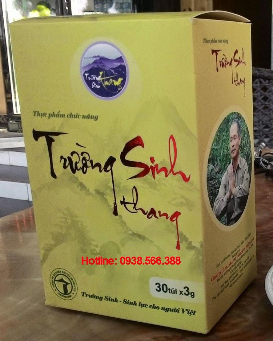 Trà thảo dược Trường Sinh Thang