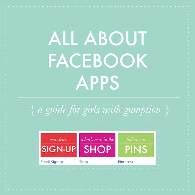 ALL ABOUT FACEBOOK APPS (via Holly Would)