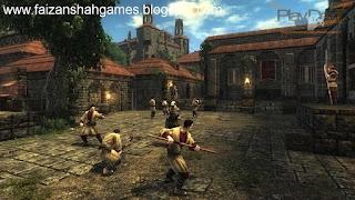 Risen game map