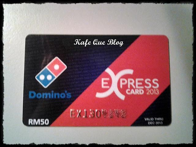 KAD EXPRESS EKSPRESS DOMINOS PIZZA 2013, BILA TARIKH TUTUP KAD DISKAUN DOMINOS PIZZA,CARA NAK DAFTAR KAD DOMINOS EKSPRESS DISKAUN PIZZA