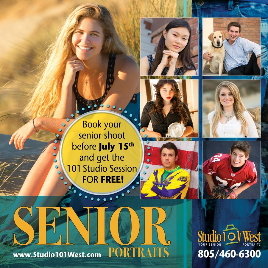Save on senior portraits in Atascadero