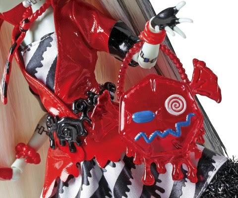 JUGUETES - MONSTER HIGH Sweet Screams  Frankie Stein | Muñeca | Felices Monstruo-Sueños  Producto Oficial 2014 | Mattel BHN02 | A partir de 6 años