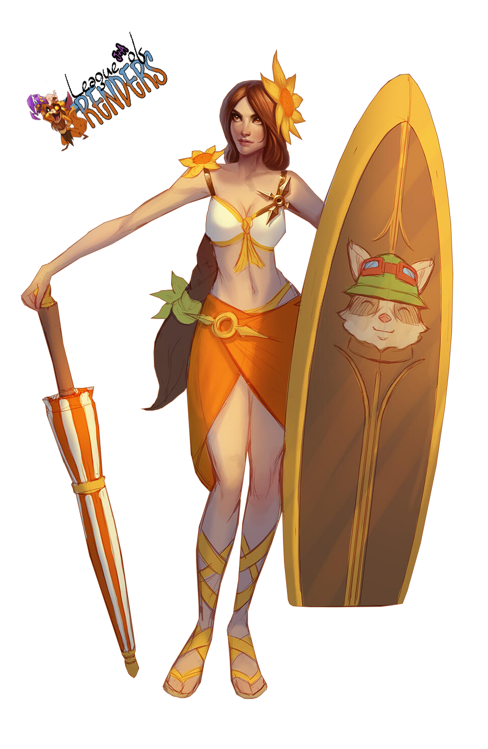 Render Leona Pool Party