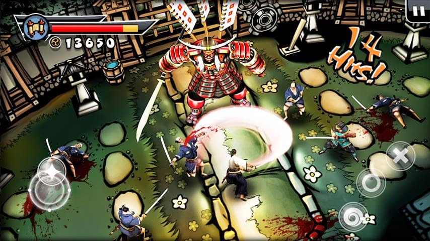 Game Samurai II Vengeance V.1.1 Apk Full Android