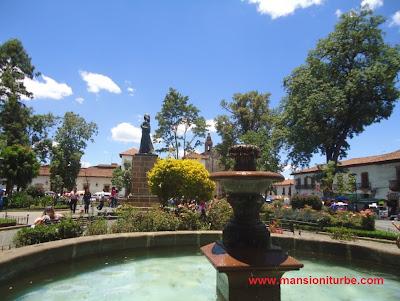Gertrudis Bocanegra Square in Pátzcuaro