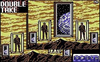 Pantalla inicial del videojuego Double Take