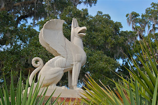 Sculpture: Griffin  Sculptor: Paul Howard Manship