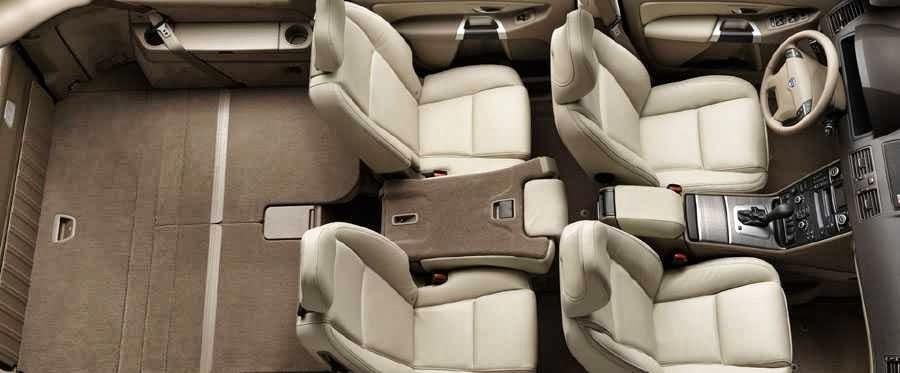 Volvo XC90 4×4 7 places  intérieur