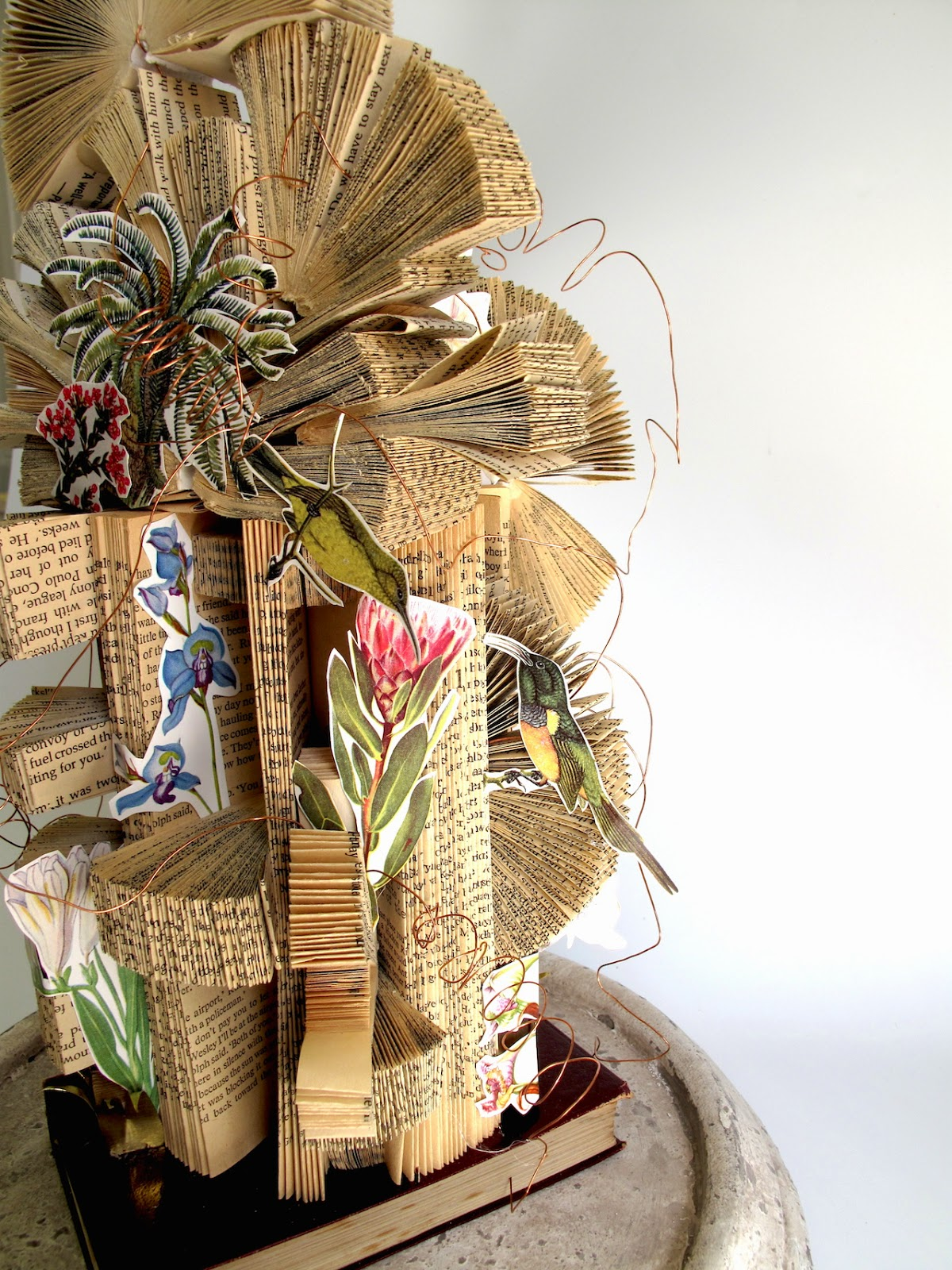Book Art: The birds in the books - Keri Muller (simpleintrigue.com)