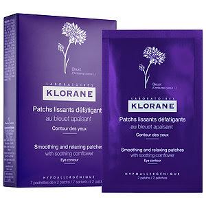 Eye Love Wednesday - Klorane Smoothing and Relaxing Patches