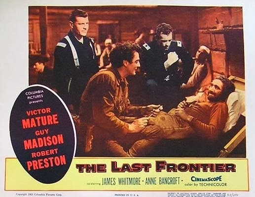 The Last Frontier (1955 film) Lauras Miscellaneous Musings Tonights Movie The Last Frontier