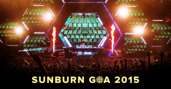 ASIA'S #1 FESTIVAL JUST GOT BIGGER - SUNBURN GOA 2015 IS NOW A 4 DAY FESTIVAL (27 TO 30 DECEMBER)