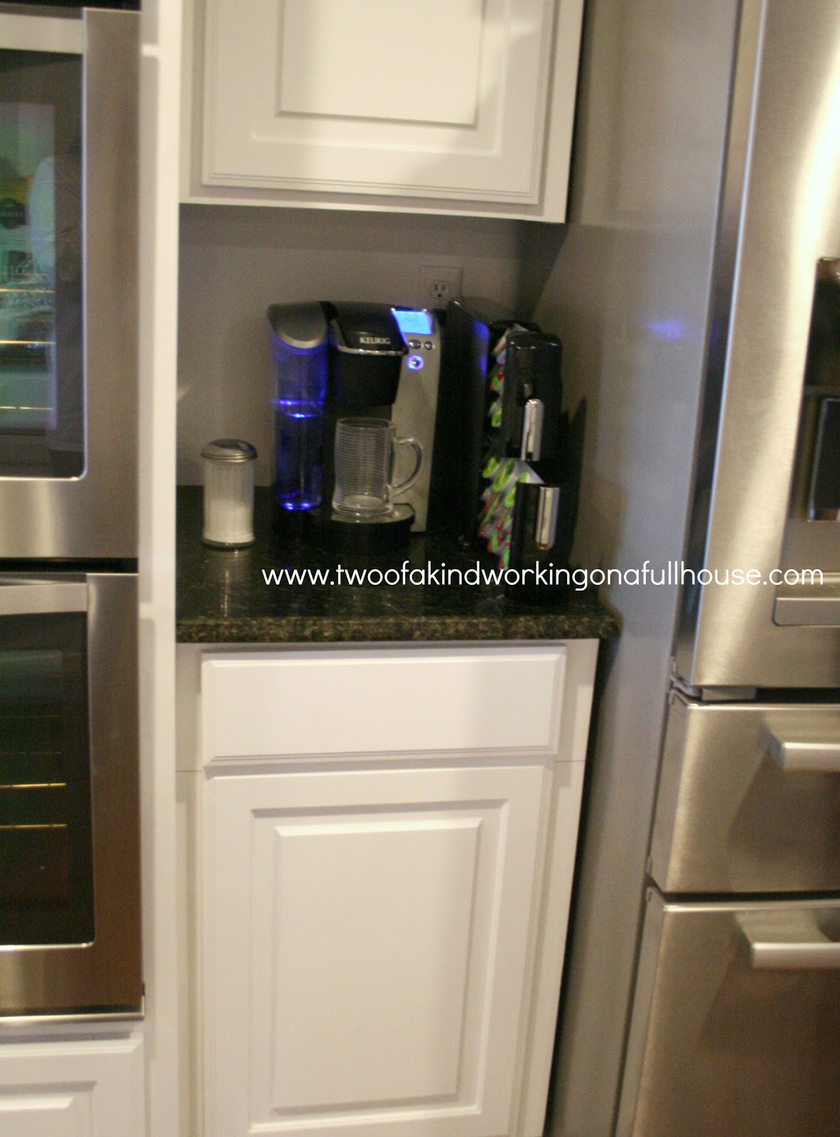 Two of a kind working on a full house & Keurig K-Cup® Pack Countertop Storage Drawer + Giveaway | Two of a ...