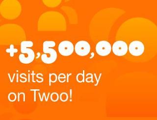 millones de visitas a los perfiles en twoo