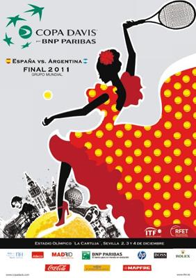 Copa Davis 2011 final Sevilla España vs Argentina