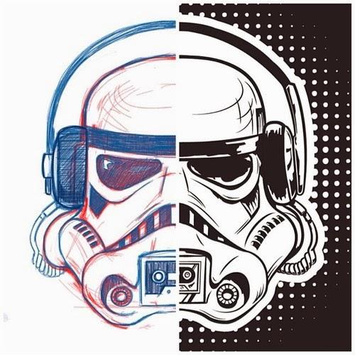 NOPAL Art: Stormtrooper Boombox
