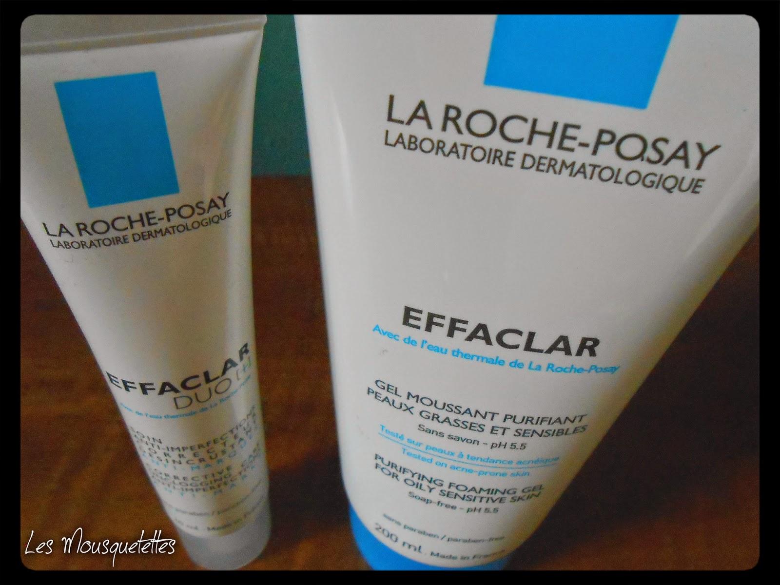 Duo Effaclar La Roche Posay - Les Mousquetettes©