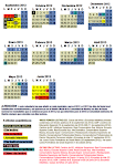 Calendario escolar curso 2012-13