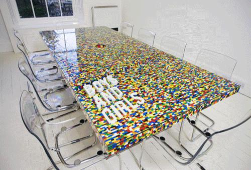 I love gadgets de lego tafel - Tafel leeuw ...