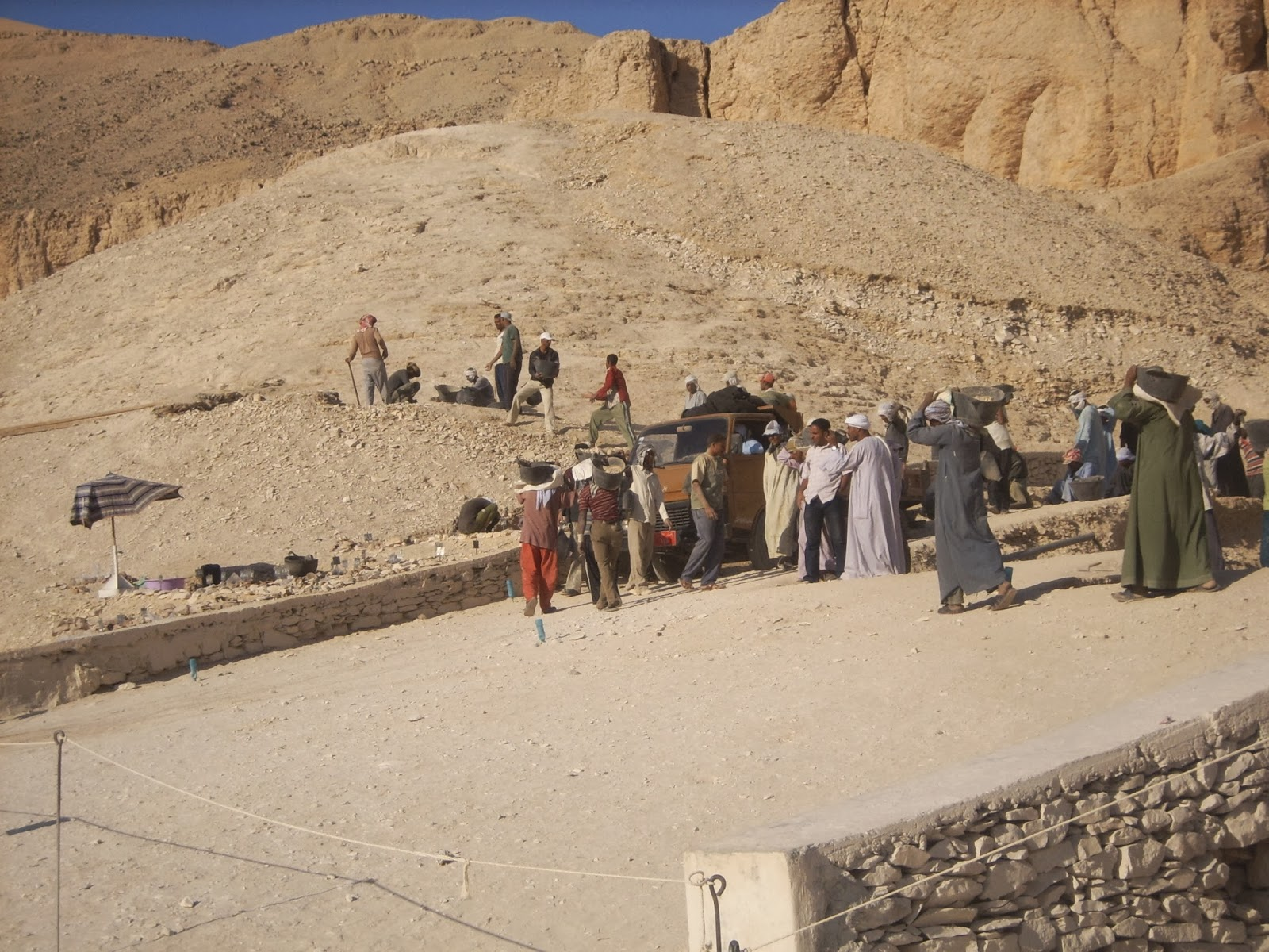 Valley of the Kings Excavations