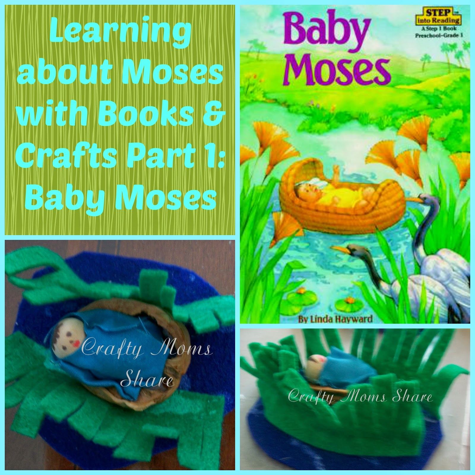 Crafty Moms Baby Moses Books and Craft